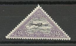 Estland Estonia 1927 Flugpost Michel 52 A MNH - Estonie