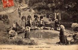 DPT 22 CAMLEZ Le Lavoir De St-Trémeur - France