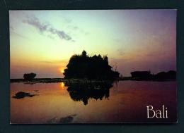 INDONESIA  -  Bali  Tanah Lot  Unused Postcard - Indonesia