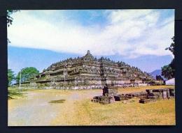INDONESIA  -  Central Java  Borobudur Buddhist Temple  Unused Postcard - Indonesia