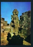 INDONESIA  -  Yogyakarta  Prambanan Temple  Brahma Statue  Unused Postcard - Indonesia