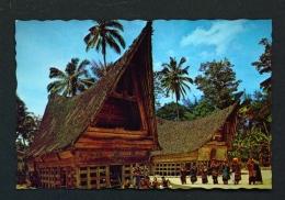 INDONESIA  -  North Sumatra  Samosir  Batak Traditional House  Unused Postcard - Indonesia