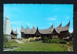 INDONESIA  -  West Sumatra  Rumah Gadang  Adityawarman Museum  Unused Postcard - Indonesia