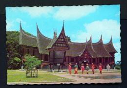 INDONESIA  -  West Sumatra  Bukit Tinggi Museum  Unused Postcard - Indonesia