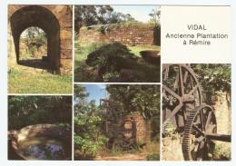 GUYANE FRANCAISE REMIRE VIDAL ANCIENNE PLANTATION ENTRÉE DU MOULIN MACHINE A VAPEUR  - NON CIRCULÉE - Guyane