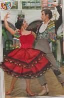 Danseur  Espagnole  -  Robe  Rouge - Bestickt