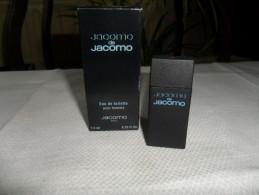 ANCIEN ECHANTILLON / JACOMO DE JACOMO   / EdeT 7,5ml / PLEIN / HOMME - Miniaturen Flesjes Dame (met Doos)