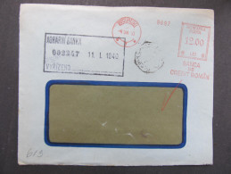 BRIEF Bucuresti 1940 Frankotype Freistempel Postfreistempel  /// R1365 - Cartas De La Primera Guerra Mundial