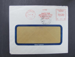 BRIEF Bucuresti 1939 Frankotype Freistempel Postfreistempel  /// R1369 - Cartas De La Primera Guerra Mundial