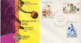 Australia Set On FDC - Handicaps