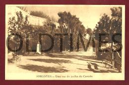 ABRANTES - RUA DO JARDIM DO CASTELO - 1940 PC - Santarem