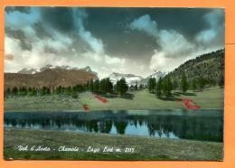 FAO-08  Chamois Val D'Aosta. Lago Lod M.2115. Circulé Vers La Suisse - Altre Città