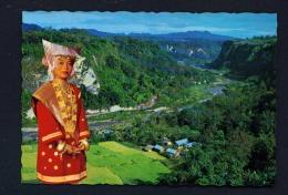 INDONESIA  -  West Sumatra  Sianok Valley  Minangkabau Girl  Unused Postcard - Indonesia