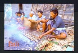 INDONESIA  -  Bali  Sate  Unused Postcard - Indonesia