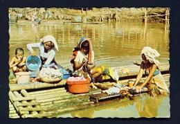 INDONESIA  -  Jakarta  Washing Clothes  Unused Postcard - Indonesia