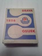 Drava 1856 Osijek Old Vintage Matchbox Matches Croatia - Boites D'allumettes