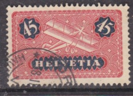 Switzerland, 1931, 45c, Red + Indigo, Grilled Gum,  Used - Suisse