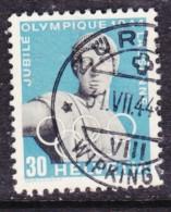 Switzerland, 1944, Olympic Games 30c,   Used - Switzerland