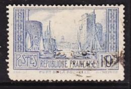 France1929, La Rochelle, 10F, Pale Ultramarine, Type I, Used - France