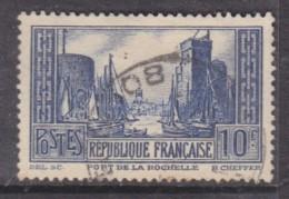 France1931, La Rochelle, 10F, Blue Type III, Used - France