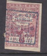 Belgium , Revenue QUITANEES ETC   5C RED, 1921 Used - Revenue Stamps