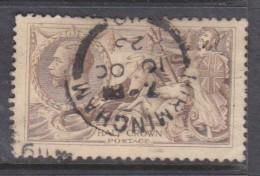 Great Britain, George V, 19182/6 Pale Brown (Bradbury Wilkinson)used - 1902-1951 (Kings)