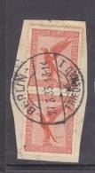 Germany, 1926, Air, 50pf Orange, Vertical Pair, BERLIN C.d.s Used On Fragment - Germany