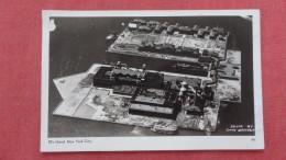 New York> New York City > Ellis Island  RPPC  Aerial View  Ref 2255 - Ellis Island