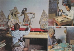 ASIE----INDONESIE---kesenian Wayang Kulit (jawa Tengahh)---voir 2 Scans - Indonesia