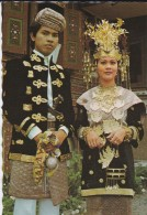 ASIE----INDONESIE--pasangan Pengantin Solok,sumatera Barat---voir 2 Scans - Indonesia