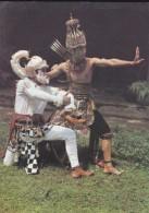 ASIE----INDONESIE---hanoman And Rama From The Ramayana Epic--voir 2 Scans - Indonésie