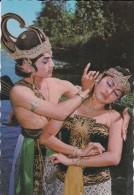ASIE----INDONESIE---salah Satu Adegan Dari Ceritera Subadra Larung....--voir 2 Scans - Indonésie