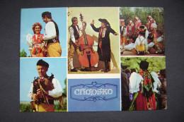 Czechoslovakia: Chodsko Region - Chodau Gebiet - National Costumes - 1960s - Europe