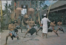 ASIE----INDONESIE---tari Keris Dalam Ceritera Barong,bali--voir 2 Scans - Indonésie