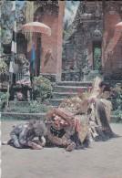 ASIE----INDONESIE--kera Sedang Mencari Katu Barong Dalam Cerita Tari Barong.bali--voir 2 Scans - Indonesia