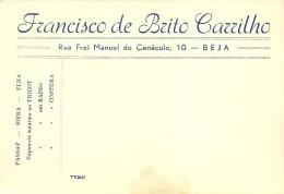BEJA - Publicidade - PASSAP SIERA ELNA TRICOT RADIO COSTURA - Francisco De Brito Carrilho - Portugal - Publicidad