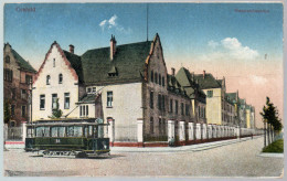 2953 - Alte Ansichtskarte - Crefeld Krefeld Husarenkaserne - Krefeld