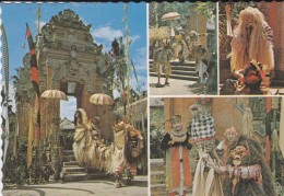 ASIE----INDONESIE-- Tari Barong.bali--voir 2 Scans - Indonésie