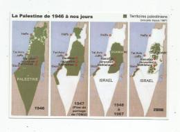 G-I-E , Cp , La PALESTINE De 1946 à Nos Jours , Histoire , Politique , écrite , Ed : Europalestine - Palestine