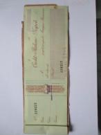 1924 Carnet Credito Italiano Napoli Assegni N.9 + Copertina - Azioni & Titoli