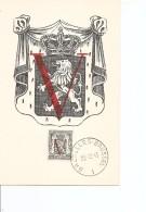 Belgique ( 673 Sur CM Commémorative De 1945 à Voir) - Maximum Cards
