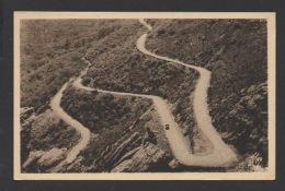 DF / 34 HERAULT / LAMALOU LES BAINS / LES LACETS DE LA ROUTE DE LA FÔRET DES ECRIVAINS ANCIENS COMBATTANTS / 1940 - Lamalou Les Bains