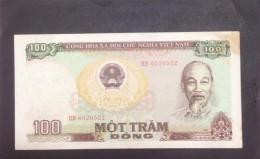 Vietnam Viet Nam 100 Dong EF Banknote / Billet 1985 -P#98 / 02 Images - Vietnam