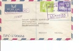 Vénézuéla (' Lettre Recommandée De 1960 De LaGuaira Vers La Belgique à Voir) - Venezuela