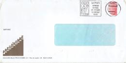 Escaliers Preud'homme Jeux Olympiques Flamme La Poste Sponsor De L'équipe Belge 05/10/1993 - Postmark Collection