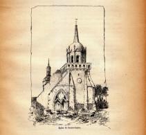 1885 - Gravure Sur Bois - Perros-Guirec (Côtes-d´Armor) - L'église- FRANCO DE PORT - Estampes & Gravures