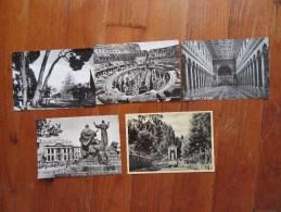 Lot De 5 Cartes  Anciennes De Roma    Italie - Cartes Postales