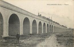 30 - GARD - Gallargues - Viaduc - Chemin De Fer - Train - Gallargues-le-Montueux
