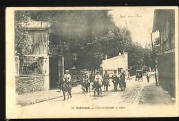 92 Hauts De Seine  Robinson 15 Une Cavalcade à Anes Très Animée Précurseur 1904 - Le Plessis Robinson
