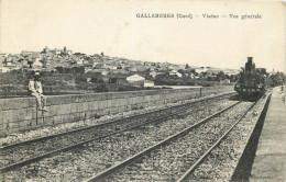 30 - GARD - Gallargues - Chemin De Fer - Train - Viaduc - Gallargues-le-Montueux